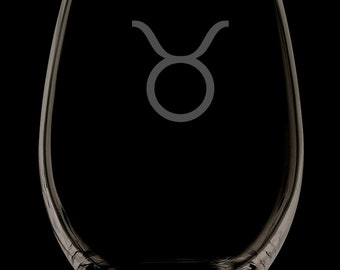 Taurus Stemless Wine Glass.