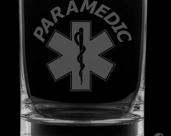 Paramedic 13 Ounce Rocks Glass