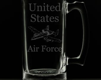 25 Ounce United States Air Force Beer Mug