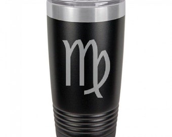 Virgo 20 Ounce Black Polar Camel Tumbler (Also Available in Red, White, Gray, & Blue)