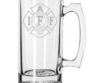 IAFF Fire Department Beer Mug.
