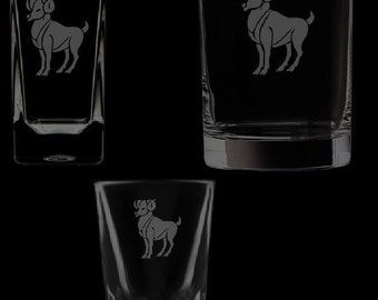 Aries Shot Glassware