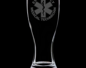 EMT 18 Ounce Pilsner Glass