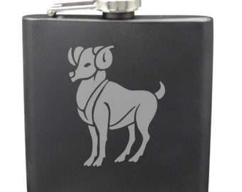 Aries 6 Ounce Flask