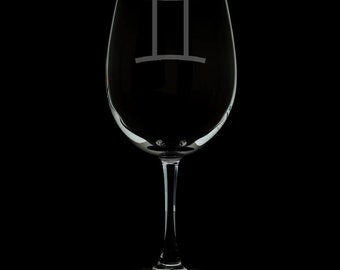Gemini Wine Glass.