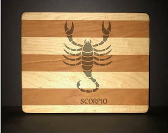 Scorpio Cuttingboards Made Out Of Cherry and Maple (8 X10 size displayed)