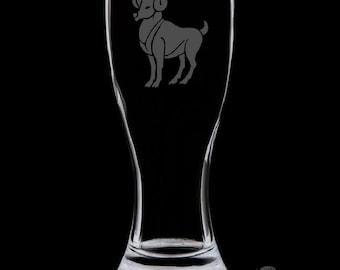 Aries 18 Ounce Pilsner Glass