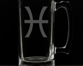 Pisces Beer Mug.