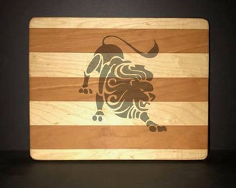 Leo Cuttingboards Made Out Of Cherry and Maple (8 X10 size displayed)
