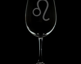 Leo 12 Ounce Wine Glass (Available With Stem And Stemless)