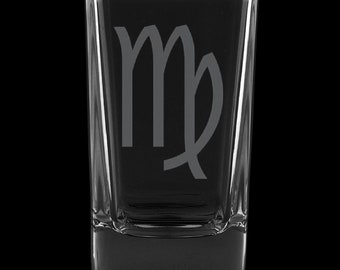 Virgo 2.75 Ounce Dessert Shot Glass (Also available in 2.0oz)