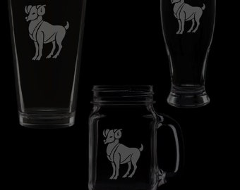 Aries Glassware