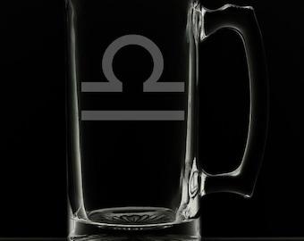 Libra Beer Mug.