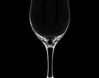 Blank 20 Ounce Stemmed Wine Glass