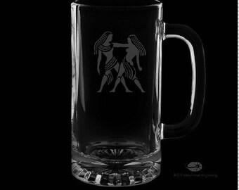 Gemini Beer Mug.