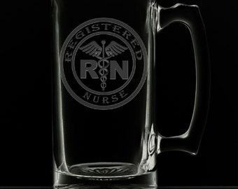 Registered Nurse Beer Mug