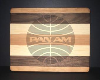 Pan American Airways 10 X 8 Bread/Cheese Board