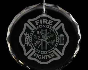 Fire Department Christmas Ornament