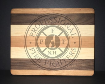 "PFFNH 8""X10"" Cuttingboards Made Out Of Cherry, Black Walnut, and Maple (7X9 & 12""X14"" Also Available)"