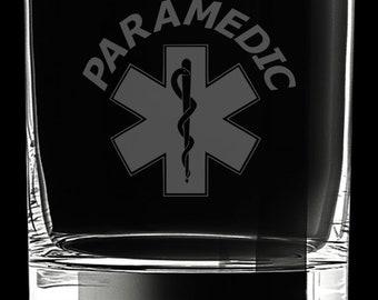 Paramedic 10 Ounce Rocks Glass