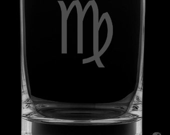 Virgo Rocks Glass.