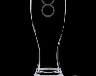 Taurus Pilsner Glass.