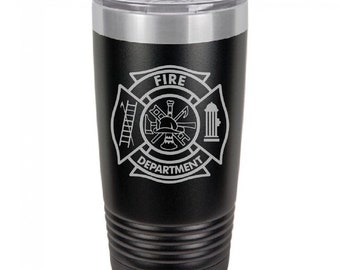 Fire Department Tumbler