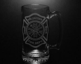 Volunteer Fire Department Beer Mug.