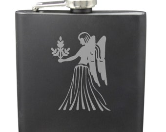 Virgo 6 Ounce Flask