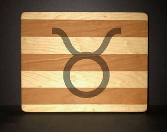 Taurus Cuttingboards Made Out Of Cherry and Maple (8 X10 size displayed)