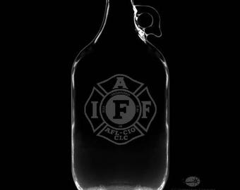 IAFF Personalized 64 Ounce Growler