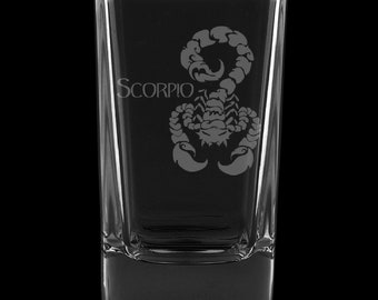 Scorpio 2.75 Ounce Dessert Shot Glass (Also available in 2.0oz)