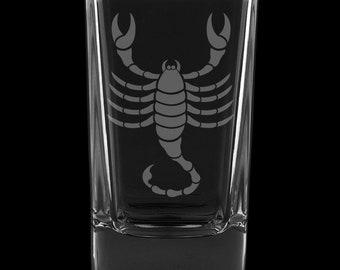 Scorpio 2.75 Ounce Dessert Shot Glass (Also available in 2.0oz)