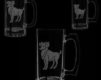 Aries Beer Mugs
