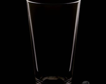 Pint Rim Tempered 16 Ounce Pub Glass