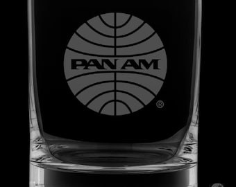 Pan Am Rocks Glass.