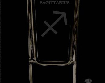 Sagittarius Shot Glass
