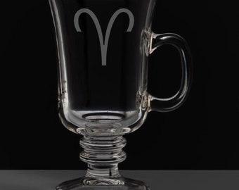 Aries 8.5 Ounce Irish Coffee Mug