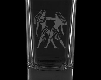 Gemini 2.75 Ounce Dessert Shot Glass (Also available in 2.0oz)