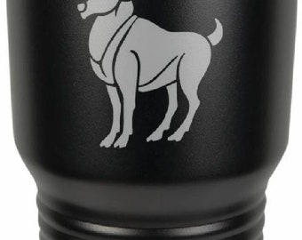 Aries 30 Ounce Black Polar Camel Tumbler (Also Available in Red, White, Gray, & Blue)