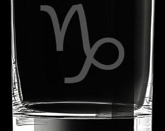 Capricorn 10 Ounce Rocks Glass