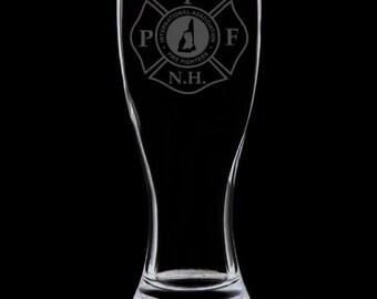 PFFNH 18 Ounce Pilsner Glass
