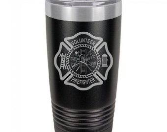 Volunteer Fire Department Tumbler