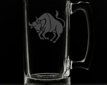 Taurus Beer Mug.