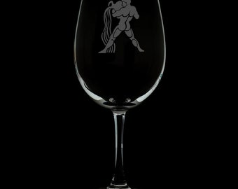 Aquarius 12 Ounce Wine Glass (Available With Stem And Stemless)
