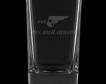 Pan American Railways 2.75 Ounce Dessert Shot Glass (Also available in 2.0oz)