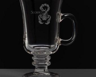 Scorpio 8.5 Ounce Irish Coffee Mug