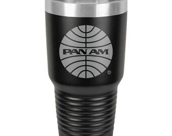 Pan American Airways Coffee Tumbler.