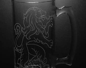 Scottish Lion Beer Mug