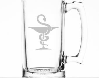 Pharmacist 25 Ounce Personalized Beer Mug